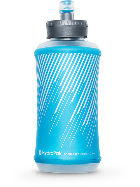 Hydrapak Softflask Flaska 500ml malibu blue